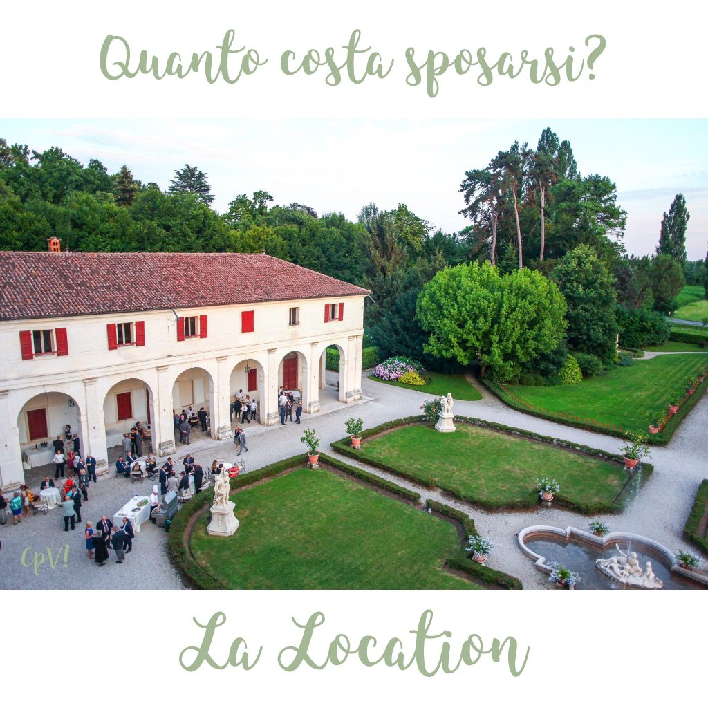 Quanto costa sposarsi la location destination wedding italia for Quanto costa una mega villa