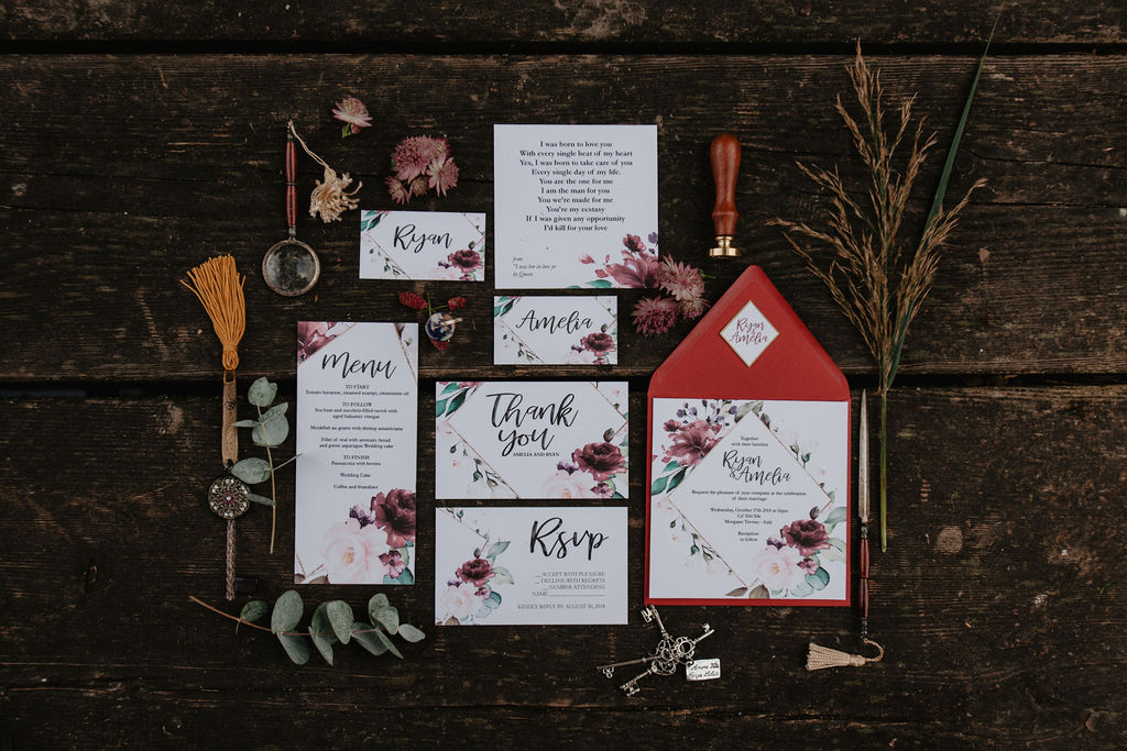 Come semplificare l'organizzazione di un matrimonio partendo dai colori